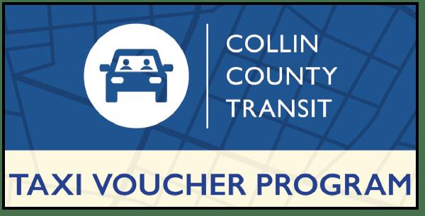 Collin County Transit Taxi Voucher Program Logo